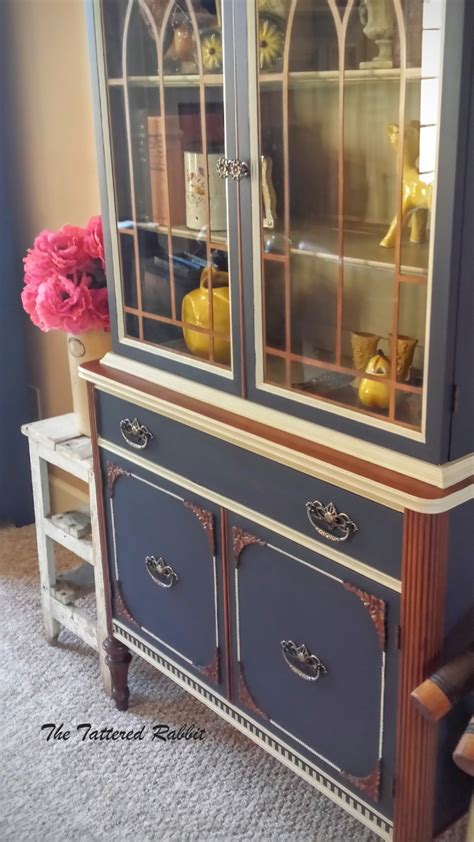 hutch  coastal blue milk paint general finishes design
