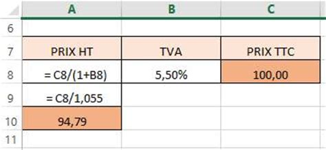 calculer un prix ht ou ttc le de k pour gagner en efficacit 233