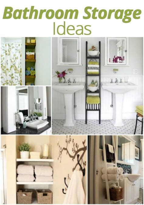 diy bathroom storage ideas diy bathroom storage ideas clever solutions pinterest