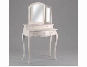Coiffeuse Meuble Noir : coiffeuse meuble noir maison design ~ Teatrodelosmanantiales.com Idées de Décoration