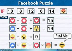 Like   Haha  U2013 Love  U00d7 Angry      Solve This Emoji Facebook