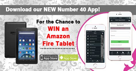 Download Our New Number 40 App For The Chance To Win An