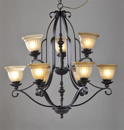 9 light black bedroom chandeliers at cheap prices