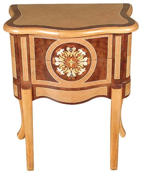 french provincial coffee table and end tables natural walnut french provincial accent side table