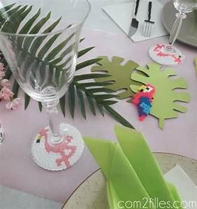 Deco Table Tropical : kids un anniversaire tropical flamand rose pour une petite fille ~ Teatrodelosmanantiales.com Idées de Décoration