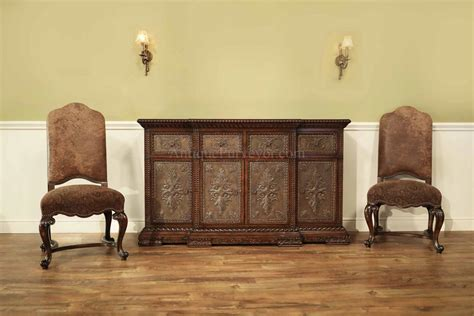 Style Sideboard by Tuscan Style Walnut Sideboard Antique Style Credenza