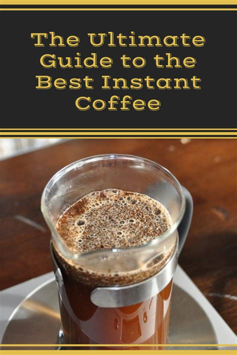 You can also pick a decaf version if you are. The Ultimate Guide to the Best Instant Coffee   Coffee Break   Best instant coffee, Instant ...