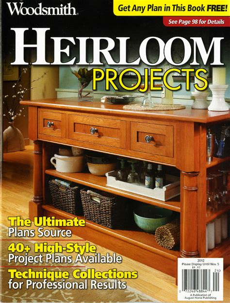 woodworking plans woodsmith project supplies  plans