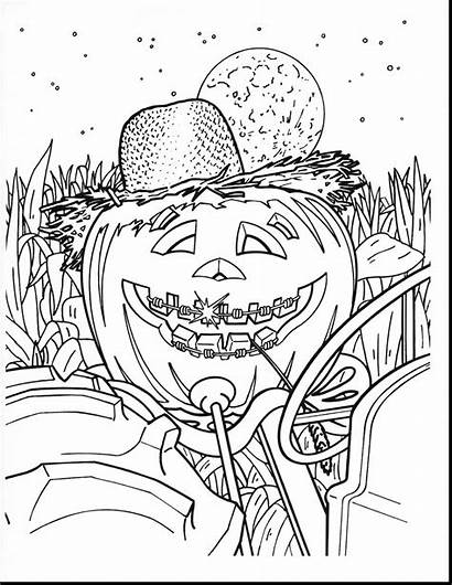 Coloring Pages Month Halloween Hard History Adults
