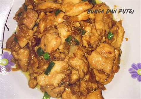 Cukup bisa dibuat dirumah dan nikmati bersama. Resep Chicken Teriyaki ala Hokben oleh Bunga Dwi Putri - Cookpad