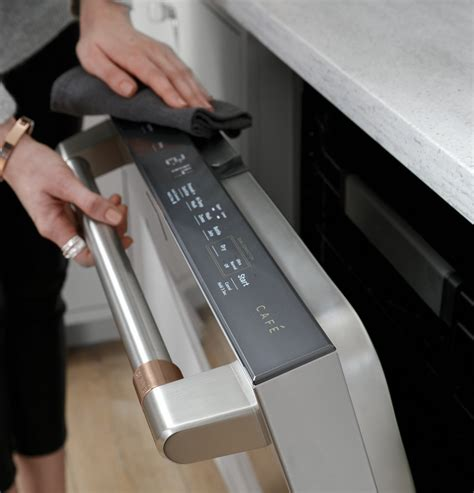 cdtpns cafe  built  dishwasher ultra quiet  db stainless steel