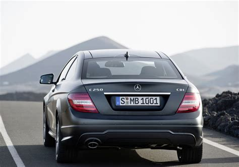 rear view mercedes c class coup 233 rear view car pictures