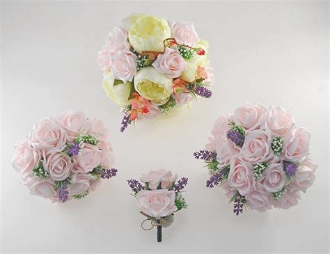 zara silk peony cherry blossom light pink rose wedding