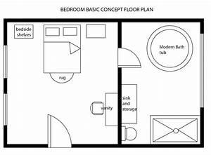 Minimalistic bedrooms, bedroom floor plans templates
