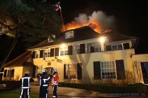 Grote Brand Verwoest Villa In Aerdenhout; Kunstwerken