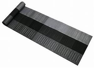 Tischläufer Für Draußen : nktm platzdeckchen 4 er in schwarz grau platzsets ~ A.2002-acura-tl-radio.info Haus und Dekorationen