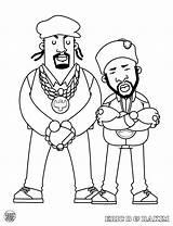 Hop Hip Coloring Pages Rappers Rap Hiphop Mark Bboy Dokument Rakim Eric Books Presents Printable Popular Harry sketch template