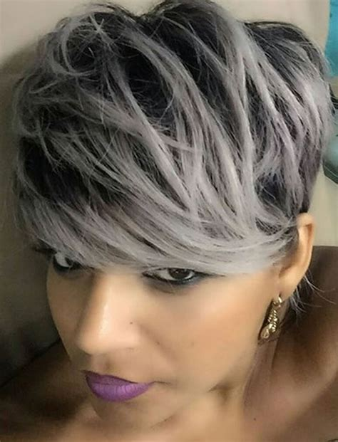 Hairstyles For Black With Gray Hair by The 32 Coolest Gray Hairstyles For Every Lenght And Age
