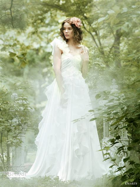 garden wedding dresses wedding dresses by dearte wedding inspirasi