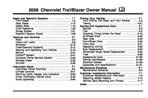 how to download repair manuals 2007 chevrolet trailblazer transmission control 2007 chevy trailblazer owners manual pdf