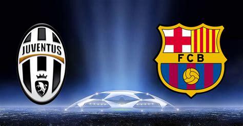Juventus vs. Barcelona Champions League Quarter Finals ...