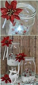 12, Diy, Christmas, Mason, Jar, Lighting, Craft, Ideas
