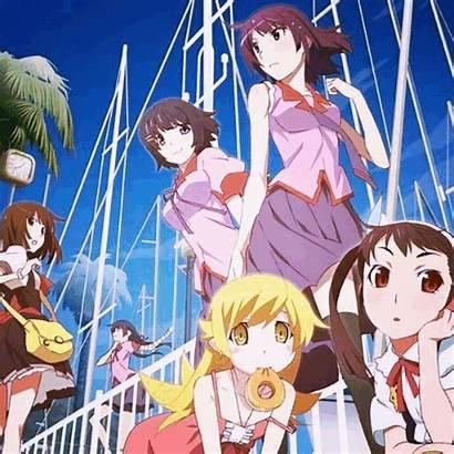 Monogatari Characters Series Anime Entries Favourite Linked
