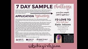 7 Day Sample Challenge Instructions   Ud83e Udd17  Ufe0f Ud83d Udc85 Ud83c Udffb