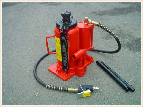 Air Hydraulic Bottle Jack 20t_aj20202b