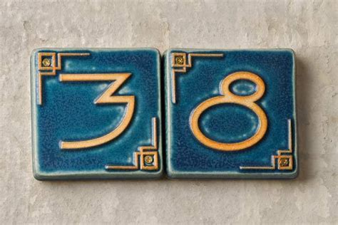 ceramic house numbers this house