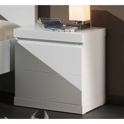 le de chevet chambre chevet blanc laqué pour chambre enfant