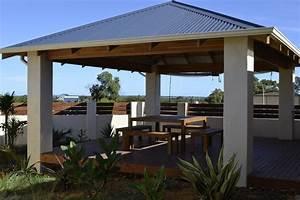 Freestanding Patio - Contemporary - Patio - Perth