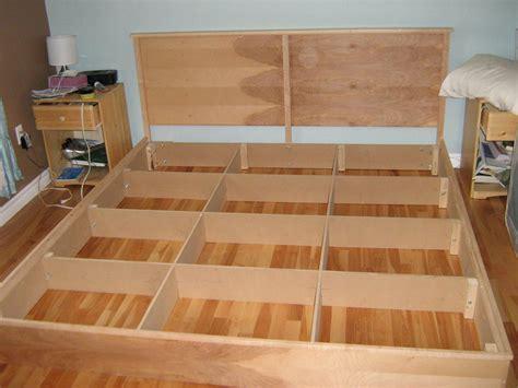King Platform Bed Plans by King Platform Bed Plans Bed Plans Diy Blueprints