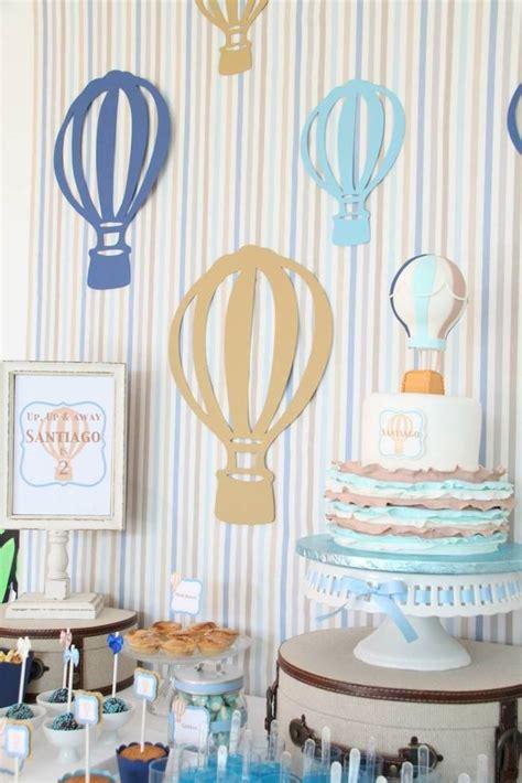 Hot Air Balloon Party Party Ideas Pinterest
