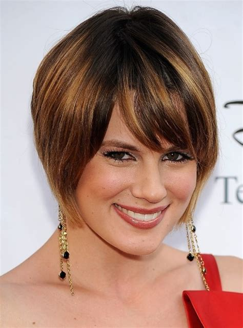70 cute short hairstyles for faces with double chin 2018 trendy hairstyles for faces