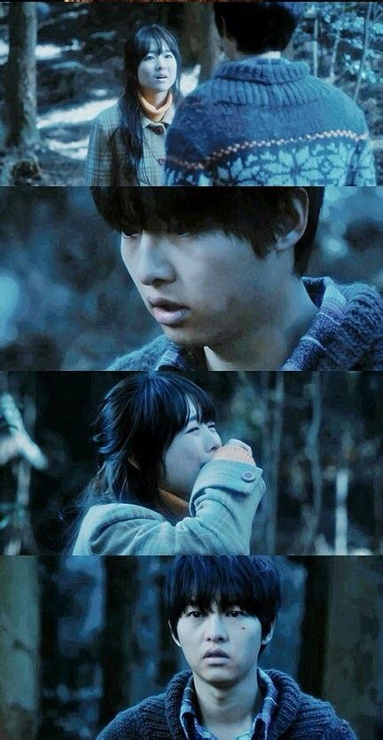 werewolf boy sad away tell him she wolf actors trying run he cry baby korean cried drama cast scene