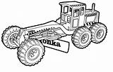 Coloring Backhoe Pages Construction Printable Bulldozer Getdrawings Getcolorings sketch template