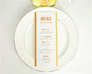 wedding menus modern stack wedding menus wedding menus by shine