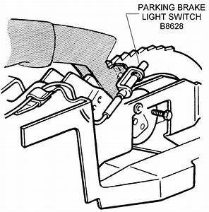 Parking Brake Light Switch - Diagram View