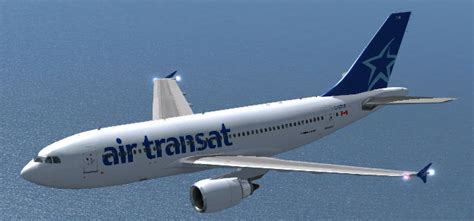 a310 300 air transat air transat airbus a310 300 for fsx