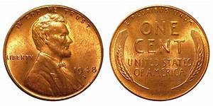 Canadian Penny Value Chart 1948 S Lincoln Wheat Cent Bronze Composite Penny Value
