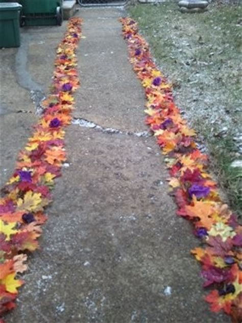 diy aisle runner done weddings style and decor do it yourself wedding forums weddingwire