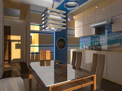 Kitchen design: Nautical kitchen decor