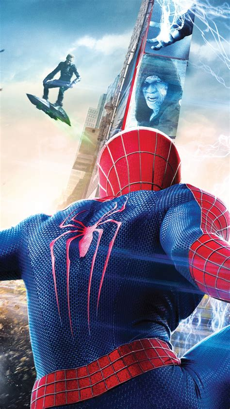 Wallpaper The Amazing Spider-Man 2, Spider-Man, Electro