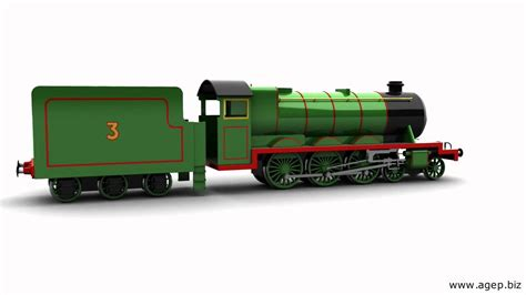 Henry The Green Engine (3d)