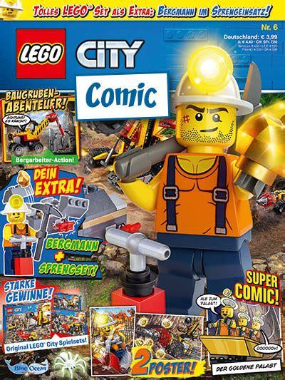 blue ocean entertainment lego city comic