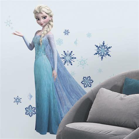 stickers muraux reine des neiges disney frozen elsa glitter wall decals rosenberryrooms