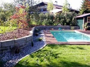 Garten Am Hang Ideen : pool garten rund mein schwimmbecken ~ Markanthonyermac.com Haus und Dekorationen