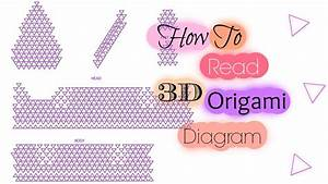 How To Read 3d Origami Diagram