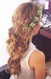 Half Up Flower Girls Hair | As you Wish | Pinterest ...